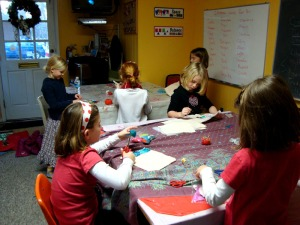 American Artists and Sewing Lessons